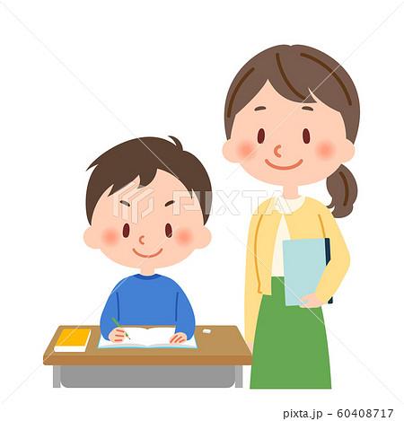 勉強 教師と生徒 60408717