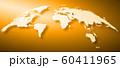 世界地図背景、ヨーロッパ中心 60411965