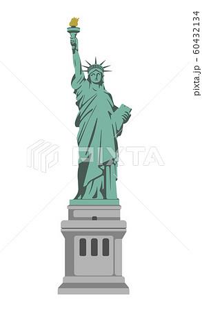 アメリカ・ニューヨーク / 自由の女神 | 世界の有名な建築物(遺跡・建物・世界遺産・ランドマーク) 60432134