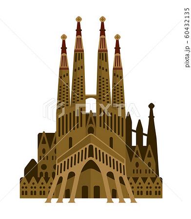 スペイン / サグラダファミリア | 世界の有名な建築物(遺跡・建物・世界遺産・ランドマーク) 60432135