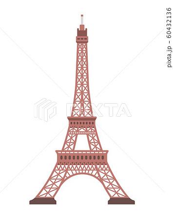 フランス・パリ / エッフェル塔   世界の有名な建築物(遺跡・建物・世界遺産・ランドマーク) 60432136