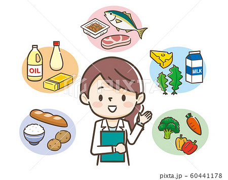 五大栄養素 栄養士 60441178