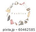 ファッションフレーム_サークル_ホワイト 60462585