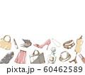 ファッションフレーム_アンダー_ホワイト 60462589