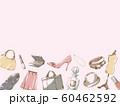 ファッションフレーム_アンダー_ピンク 60462592