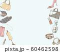 ファッションフレーム_ブルー 60462598