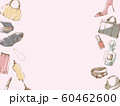 ファッションフレーム_ピンク 60462600