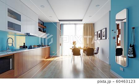 modern kitchen interior 60463123