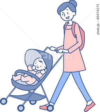 ママと赤ちゃん 60474275