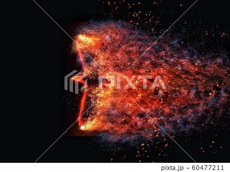抽象的な火の鳥 60477211