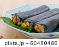 行事: 節分 恵方巻き 巻き寿司 60480486