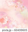 背景-和-和柄-和風-春-ピンク 60499605