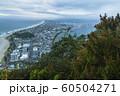 ニュージーランド タウンランガ マウント・マウンガヌイ マウアオの丘 山頂からの街並み 60504271