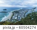 ニュージーランド タウンランガ マウント・マウンガヌイ マウアオの丘 山頂からの街並み 60504274