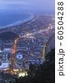 ニュージーランド タウンランガ マウント・マウンガヌイ マウアオの丘 山頂からの夜景 60504288