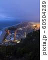 ニュージーランド タウンランガ マウント・マウンガヌイ マウアオの丘 山頂からの夜景 60504289