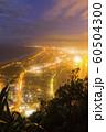 ニュージーランド タウンランガ マウント・マウンガヌイ マウアオの丘 山頂からの夜景 60504300