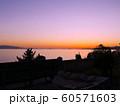 赤穂御崎の真っ赤に染まりゆく夕暮れの絶景(日本の夕陽百選) 60571603