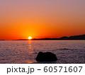 赤穂御崎の夕陽(日本の夕陽百選) 60571607