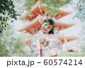 女の子 七五三 ポートレート 撮影協力:高幡不動尊 60574214