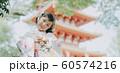 女の子 七五三 ポートレート 撮影協力:高幡不動尊 60574216