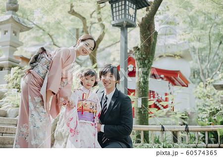 家族 七五三 ポートレート 撮影協力:高幡不動尊 60574365