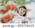 女の子 七五三 ポートレート 撮影協力:高幡不動尊 60574415