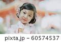 女の子 七五三 ポートレート 撮影協力:高幡不動尊 60574537