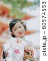 女の子 七五三 手水 撮影協力:高幡不動尊 60574553