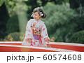 女の子 七五三 撮影協力:高幡不動尊 60574608