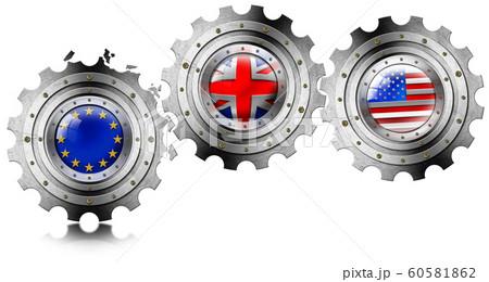 Brexit concept - UK leaving the European Union 60581862