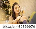 クリスマス 乾杯 60599970
