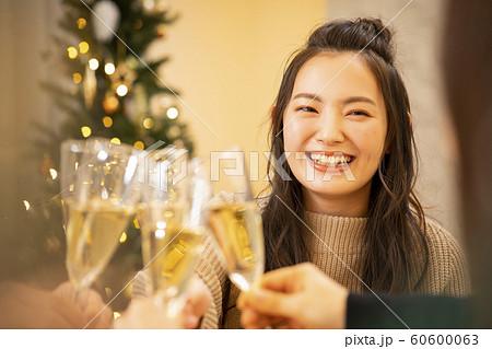 クリスマス 乾杯 60600063