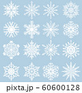 雪の結晶素材集 60600128