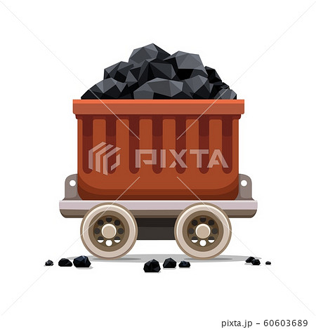 Mine coal trolley 60603689