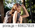 女性 アウトドア ハイキング 60617819