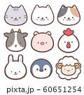 アイコン-動物集2 60651254