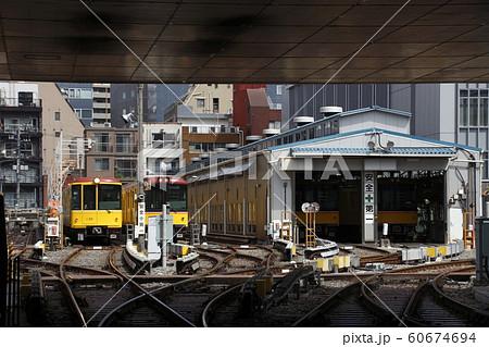 上野検車区にて(地下鉄銀座線) 60674694