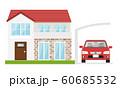 家 車 カーポート 60685532