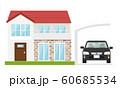 家 車 カーポート 60685534