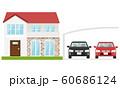 家 車 カーポート 60686124