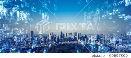 都市とテクノロジー 60697309