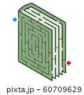 本のアイソメトリック迷路 60709629