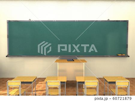 学校 教室 黒板 60721879