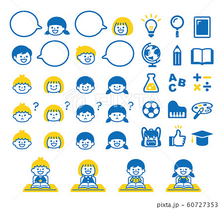Learning illustration set 60727353
