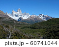アルゼンチン パタゴニア ロス・グラシアレス国立公園 フィッツ・ロイ 60741044