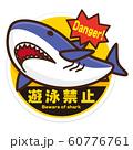 遊泳禁止 ホオジロザメ 60776761