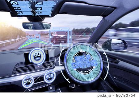 自動運転イメージ 60780754
