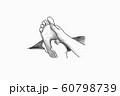 足つぼ・イラスト・イメージ 60798739