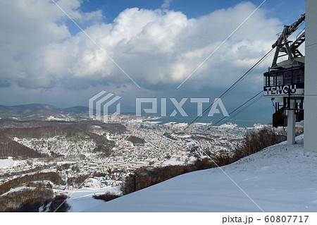 小樽天狗山スキー場のロープウェイ 60807717